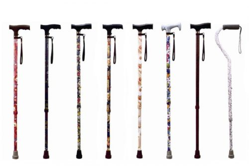 ADJUSTABLE DESIGN WALKING STICKS
