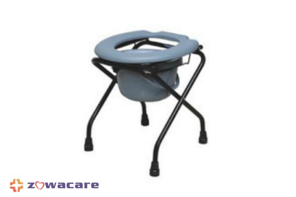 Commode Chair with Bucket