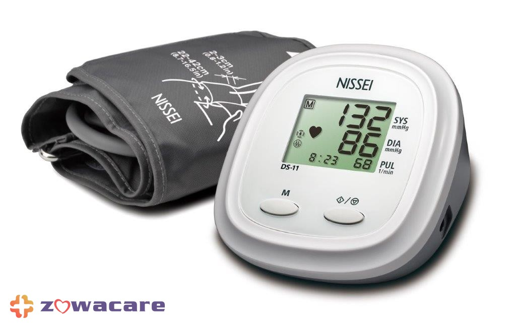 nissei ds-11 02 blood pressure monitor